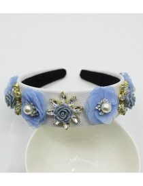 Fashion White Pearl-studded Headband