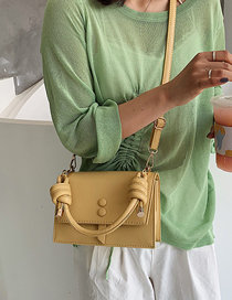 Fashion Yellow Crossbody Shoulder Bag