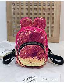 Fashion Pink Sequin Children's Backpack