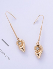 Fashion Gold Small Alloy Earrings