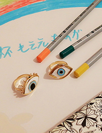 Fashion Gold Asymmetrical Eye Ring