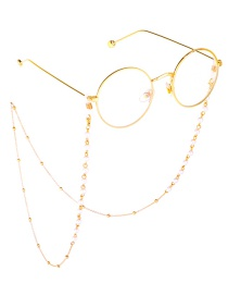 Fashion Gold Pearl Chain Beads Not Faded Glasses Chain