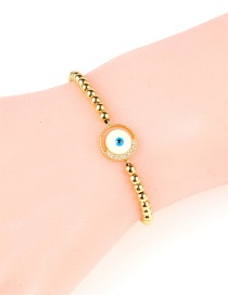 Fashion White Flash Drill Eye Inlaid Zircon Ball Bracelet