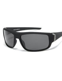 Fashion Sand Black Full Gray Driving Polarized Sunglasses