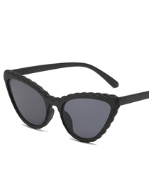 Fashion Black Box Cat Eye Sunglasses