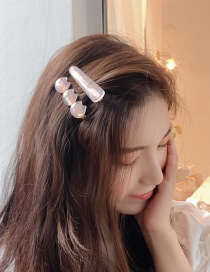 Fashion Pink Kitten Cat Hairpin
