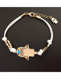 Fashion White Palm Preparation Bracelet