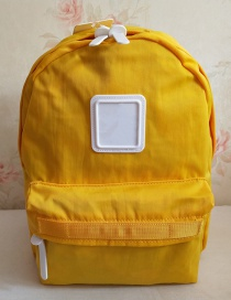 Fashion Yellow Parent-child Backpack