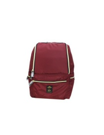 Fashion Red Wine Dirty Shoes Series Nylon Backpack