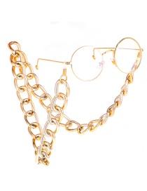 Fashion Gold Color-protected Thick Chain Non-slip Glasses Chain