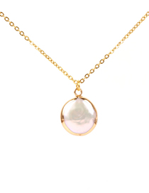 Fashion Gold Freshwater Pearl Necklace