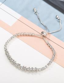Fashion Silver Diamond Bracelet