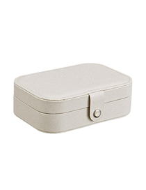 Fashion Flash White Multifunctional Jewelry Box
