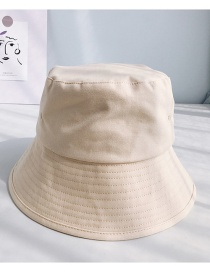 Fashion Light Board Canvas Beige Fisherman's Hat