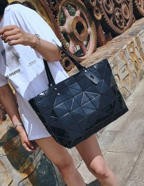 Fashion Black Luminous Symphony Tote