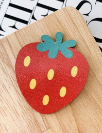 Fashion Strawberry Fruit Hair Clip