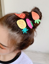 Fashion Pineapple Fruit Hair Clip