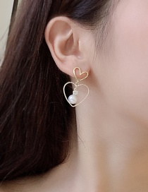 Fashion Picture Imitation Pearl Earrings