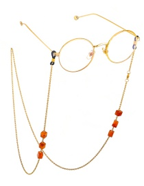 Fashion Gold Natural Metal Chain Glasses Chain