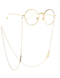 Fashion Gold Non-slip Metal Glasses Glasses Chain