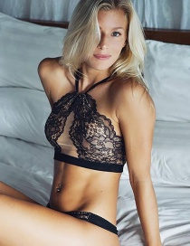 Fashion Black Lace Sexy Lingerie Set