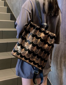 Fashion Gold Sequin Anti-theft Backpack