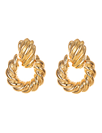 Fashion Gold Alloy Twist Knot Earring Reviews
