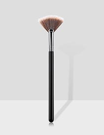 Pincel De Maquillaje Pequeño En Forma De Abanico