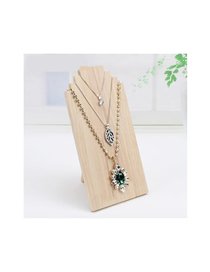Fashion Large Log Color Log Jewelry Display Stand