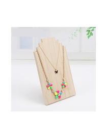 Fashion Medium Log Color Log Jewelry Display Stand