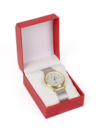 Fashion Red Watch Display Box