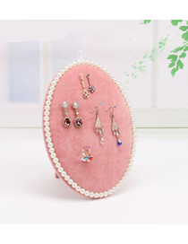 Fashion Pink Trumpet Jewelry Display Stand