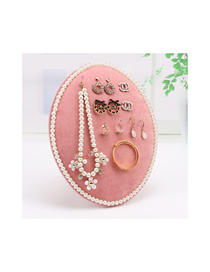 Fashion Pink Large Jewelry Display Stand