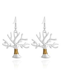 Fashion Life Tree Earrings Life Tree Ear Hook