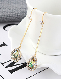 Fashion Colorful Austrian Crystal Earrings