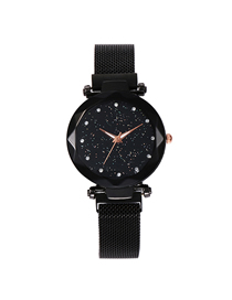 Fashion Black Tape Star Watch  Electronic Element