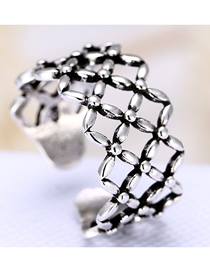 Fashion Silver Openwork Ring