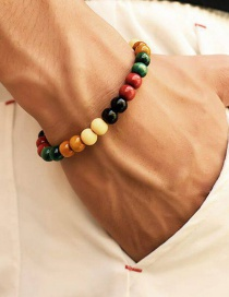 Fashion Color Beaded Bracelet