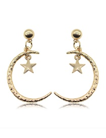 Fashion Gold Gold-plated Earrings