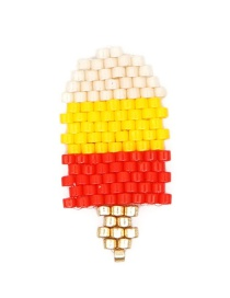 Fashion Color Rice Beads Woven Ice Cream Accessories  Beads