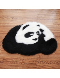 Fashion 80*54cm Binocular Panda Carpet Giant Panda Plush Carpet