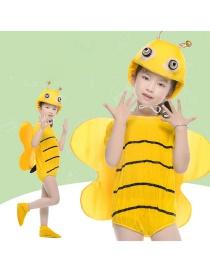 Fashion Bee Split Short Cartoon Bee Costume