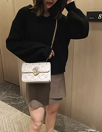 White Star Chain Shoulder Messenger Bag