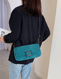 Green Shoulder Messenger Bag