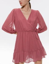 Fashion Pink Tulle Jumpsuit