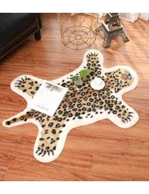 Fashion Cheetah Animal Imitation Leather Carpet