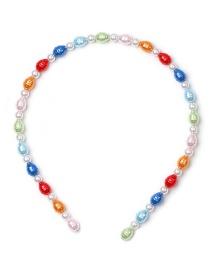 Fashion Color Pearl Headband