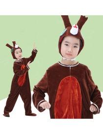 Fashion Squirrel Split Long Cartoon Squirrel Performance Suit