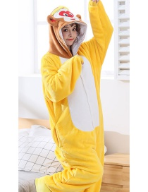 Sun Wukong Flannel Cartoon One-piece Pajamas