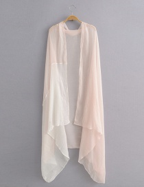 Pink Cotton Color Matching Scarves Scarf Shawl